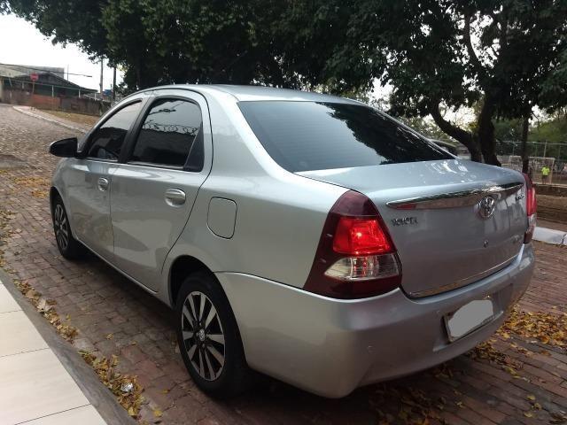 O carro mais aprovado do Brasil. Etios Platinum Sedan 1.5 Flex 2014-2015'' - Foto 7