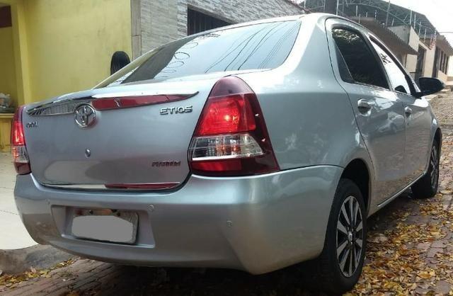 O carro mais aprovado do Brasil. Etios Platinum Sedan 1.5 Flex 2014-2015'' - Foto 8