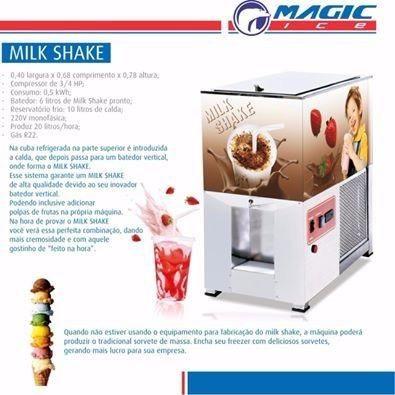 Oportunidade! Vendo máquina portátil e super versátil para Sorvete, Açaí e MilkSHake - Foto 2