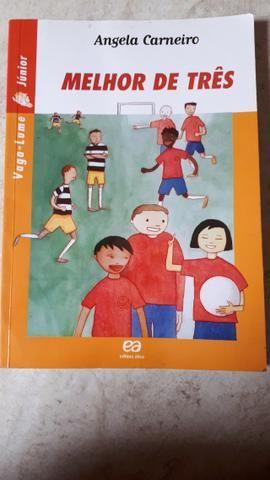 Livro paradidático- Melhor de Três - Vaga-lume Junior