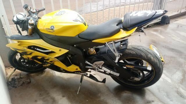 Moto Para Retirada De Peças/sucata Yamaha Yzf R6 Ano 2008 - Foto 4
