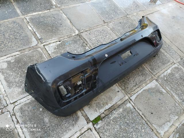 Parachoque Traseiro Renault Sandero Stepway 15 16 17 18 19 Original Usado - Foto 3