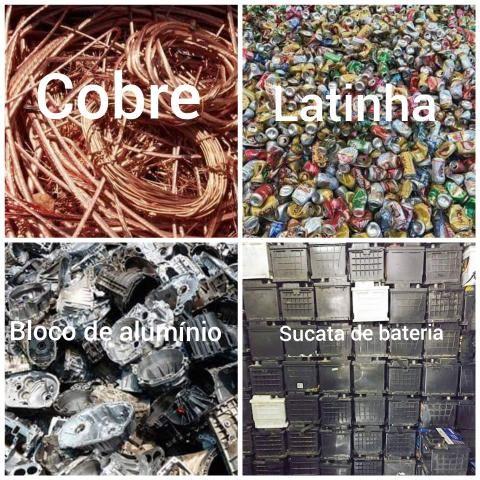 Alumino.cobre.bateria
