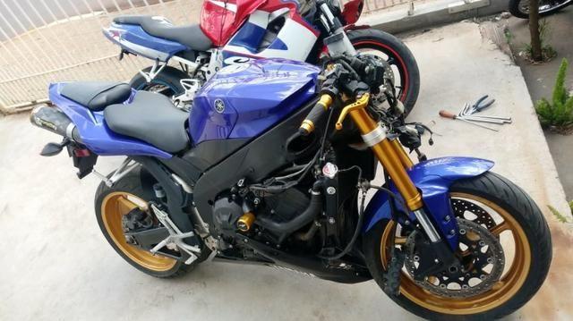Sucata Para Retirada De Peças Yamaha Yzf R1 Ano 2008 Yzf1000