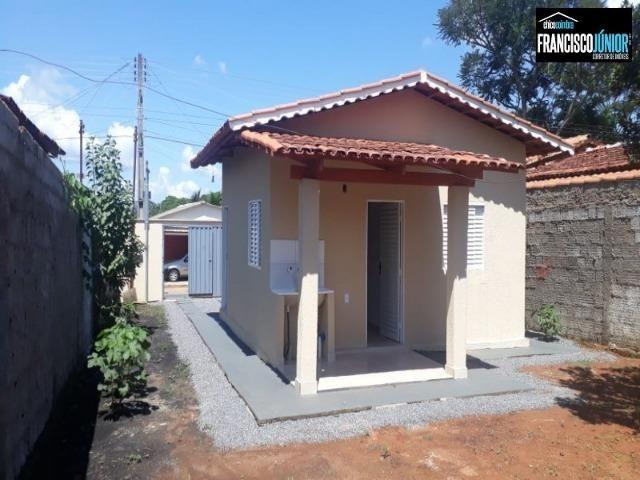 Casa em Santa Bárbara de Goiás, Construção Nova num lote inteiro de 250 m². Perto do Lago - Foto 2