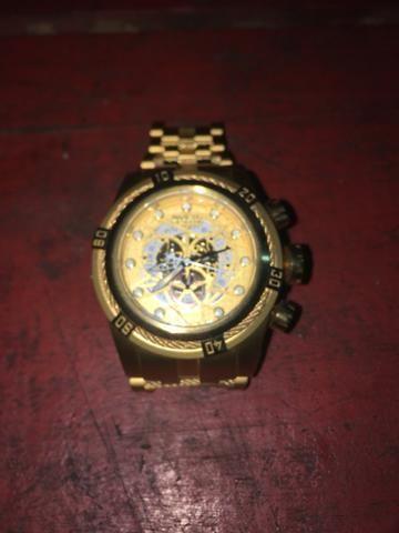 3dee893f4d3 Relógio invicta Zeus dourado - Bijouterias