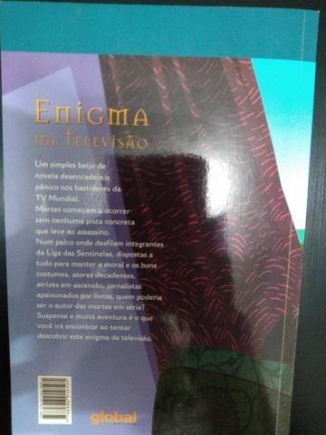 Livro Enigma na televisão - Foto 2