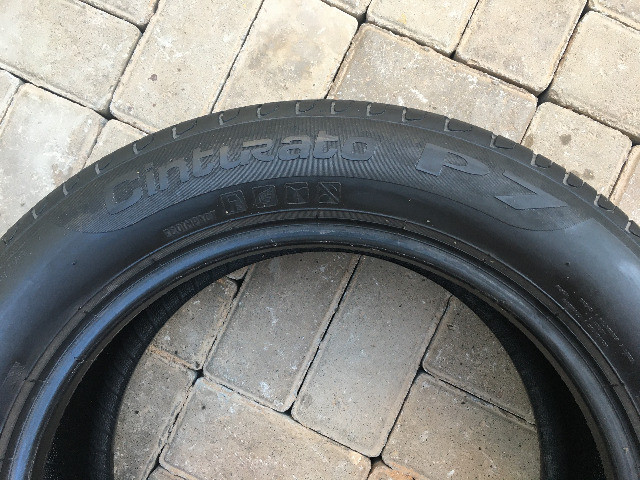 2 Pneus Aro 16 Pirelli 205/55R16 91V Cinturato P7 R$ 250,00