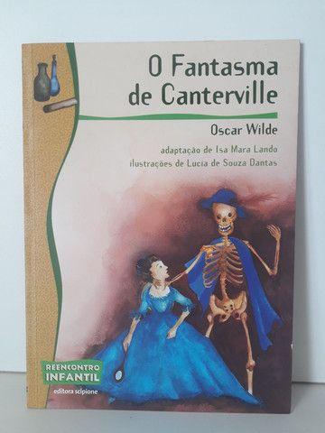 Livro O Fantasma de Caterville