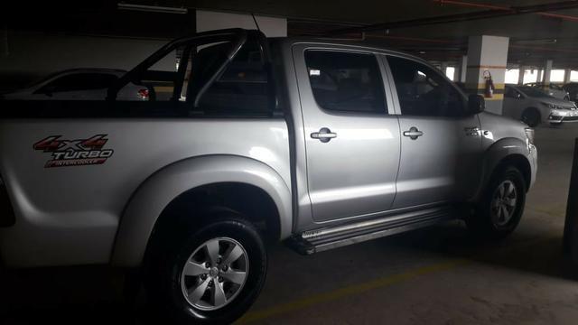 Toyota Hilux CD 4x4 3.0 Prata - Foto 4