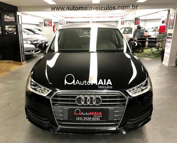Audi A1 Sportback Attraction 1.4 TFSi com Bancos de Couro Top!!! - Foto 4