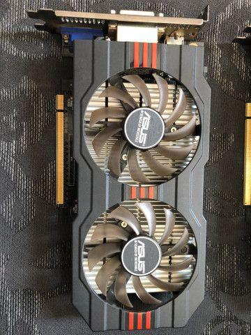 Placa de vídeo ASUS GTX750TI 2Gb