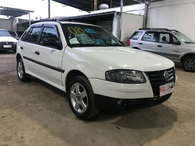 Gol City (Power) G4 1.6 8v Flex 2008 Branco - Foto 3