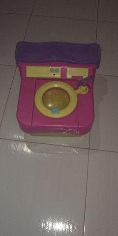 Brinquedo - maquina de lavar