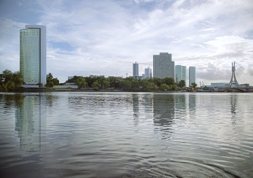 Apartamento para venda possui 269 metros quadrados com 4 suítes no Pina - Recife - PE - Foto 8