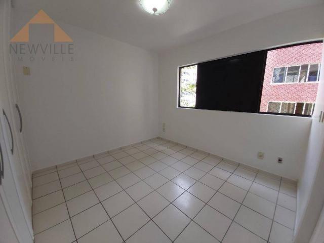 Apartamento com 4 quartos para alugar, 170 m² por R$ 6.000/mês com taxas- Boa Viagem - Rec - Foto 9
