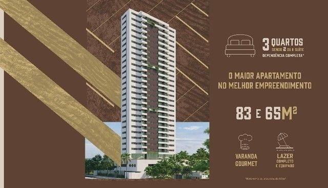JS- Lançamento Várzea, ao lado da UFPE - 3 quartos 65-83m² | Praça das Seringueiras