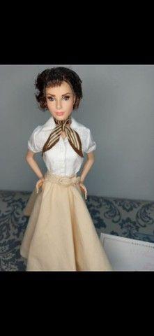 Boneca Barbie Collector Audrey Hepburn Roman Holiday