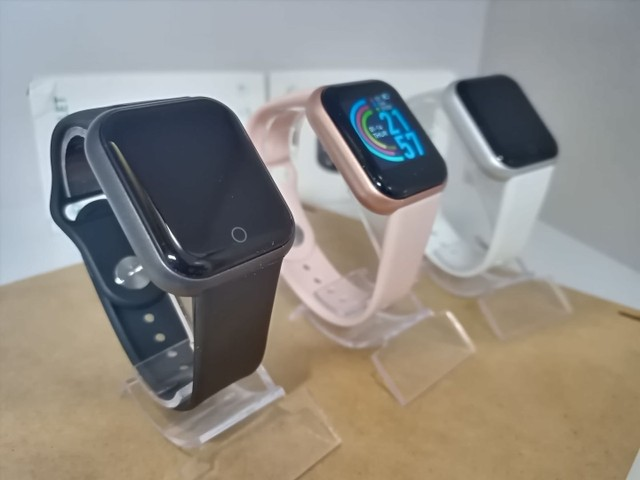 Smartwatch D20 resistente a água várias funções)(Temos tele) Ac cartão - Foto 2