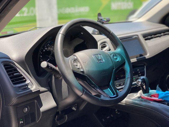 HR-V Touring 2017 - 23.000km - Farol em LED + Bancos em Couro + Multimídia  - Foto 10