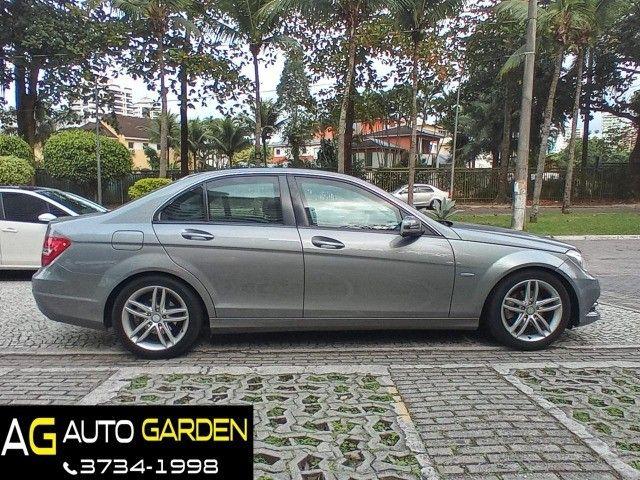 Mercedes Benz c180 2012 cgi(turbo)Blindada n3a+aut/tip+toplinha+couro+absurdamente nova!!! - Foto 7