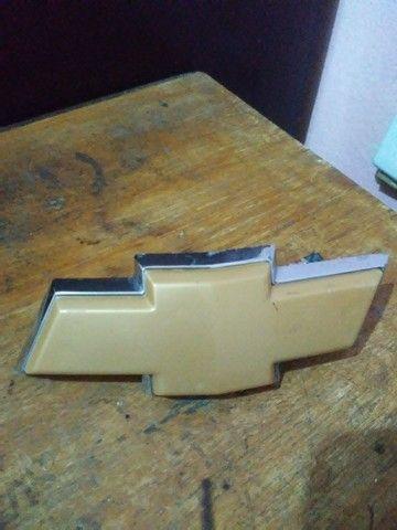 Sigla da grade gravata Chevrolet - Foto 4