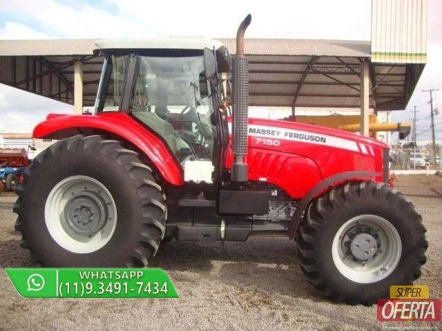 Trator Massey Ferguson 7150 4x4 ano 12 - Foto 5