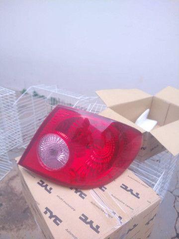 Vendo par de lanternas Corolla 2002/2008 Arteb originais - Foto 2