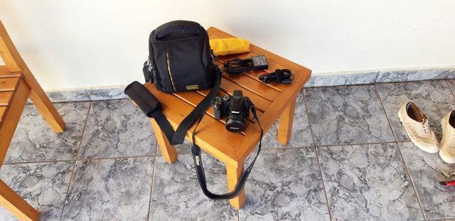 Nikon P500 com Frete Grátis (bateria Fraca) - Foto 3