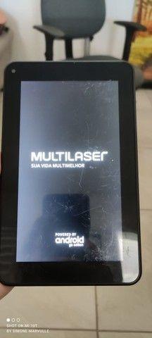 Tablet 7 polegadas Multilaser M7S Lite - Usado - Foto 5