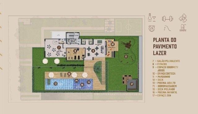 JS- Lançamento Várzea, ao lado da UFPE - 3 quartos 65-83m² | Praça das Seringueiras - Foto 16