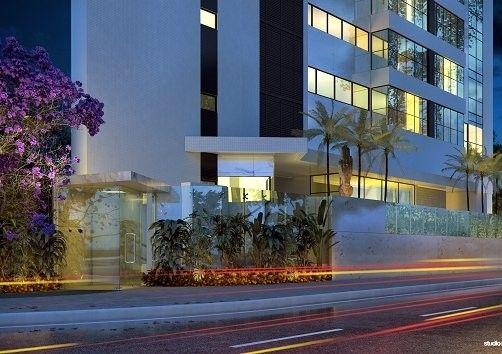 Apartamento para venda possui 269 metros quadrados com 4 suítes no Pina - Recife - PE - Foto 2