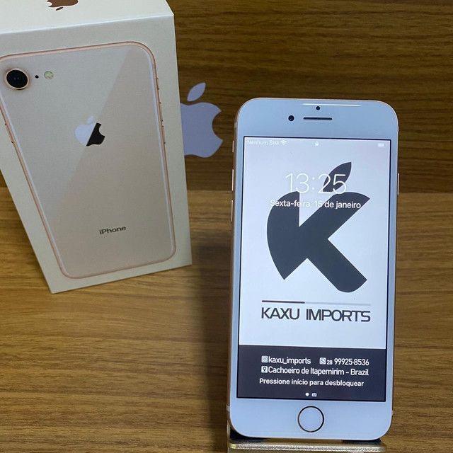 iPhone 8 Dourado 64gb - De vitrine estado de zero! - Foto 6