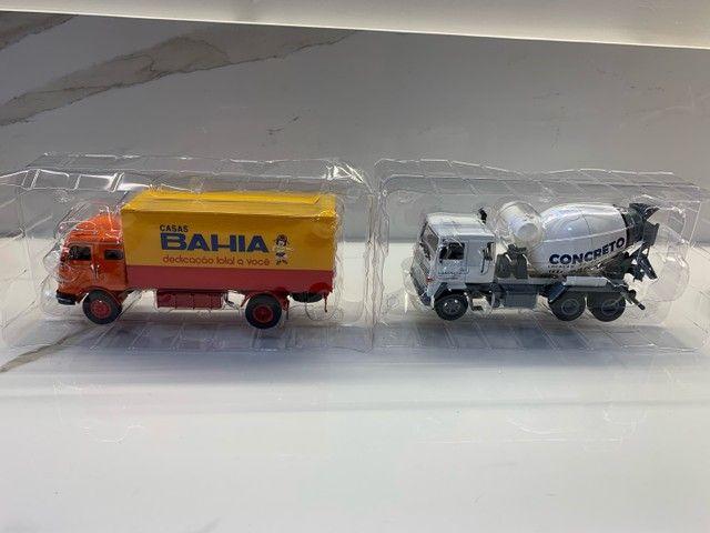 Miniaturas Coleção caminhões do Brasil - Foto 2