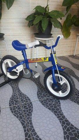 Bicicleta aro 12 impecável - Foto 2