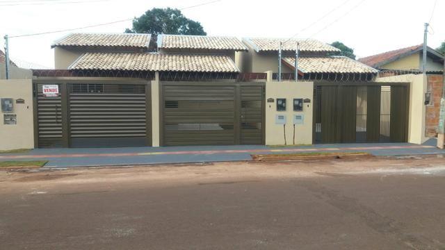 Casa nova Quintal, laje, Asfalto, porcelanato, varanda, Jd Aeroporto