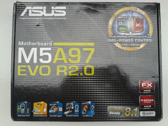 Placa Mãe Asus M5A97 Evo R2.0, Chipset Amd 970, Socket AM3+
