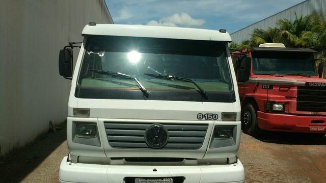 Vw/Caminhão 8-150 carroceria de madeira