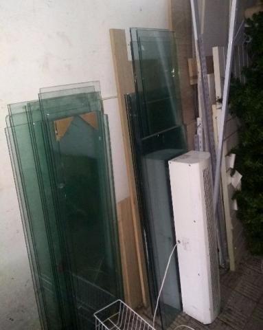 Prateleiras vidro e outros