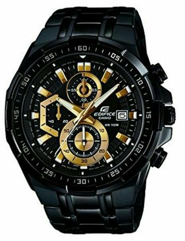Relógio Casio edfice original aprova d'água avista ou cartão ?
