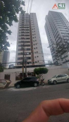 Apartamento residencial à venda, Prado, Recife.