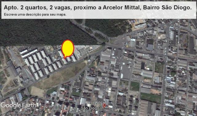 Saia do aluguel, apto 2 quartos, próximo a entrada da Arcelor Mital, São Diogo, Serra - Foto 17