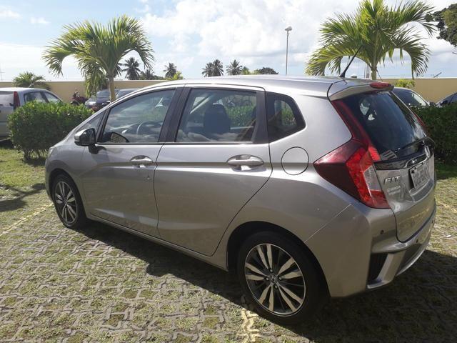 Honda Fit EX 2015, IPVA 2019, analiso troc *