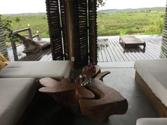 Casa de luxo 5 suites e wi-fi. 100 km de praia do Forte. Vista Paradisiaca - Foto 13