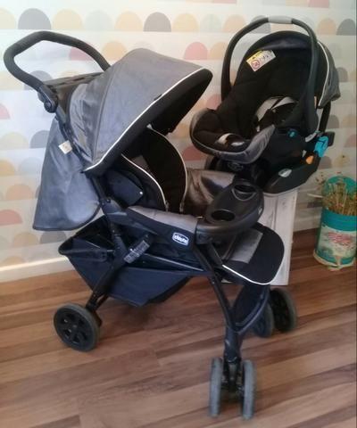 Chicco Carrinho de Bebê Duo Today + Bebê Conforto e Duas Bases - Foto 2