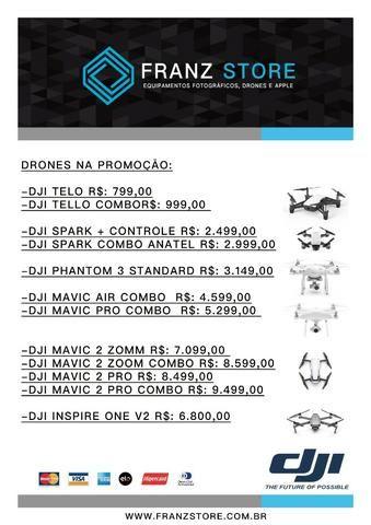 Drone Dji Spark Combo Novo - Foto 2