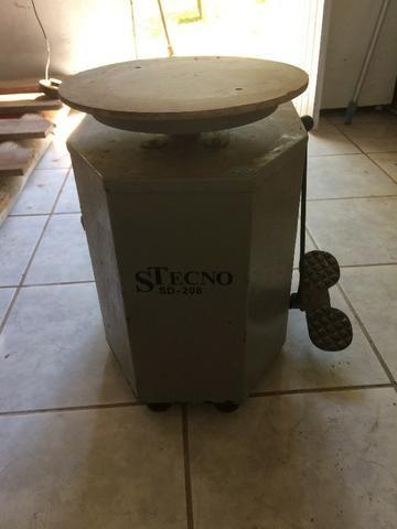 Torno Stecno SD 208 argila cerâmica - Foto 2