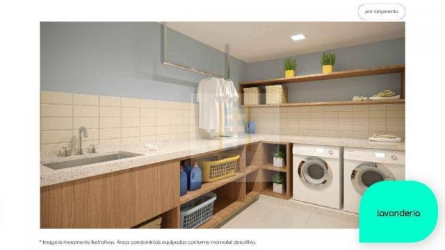 Apartamento com 2 dormitórios à venda, 48 m² - Cidade Industrial - Curitiba/PR - Foto 2