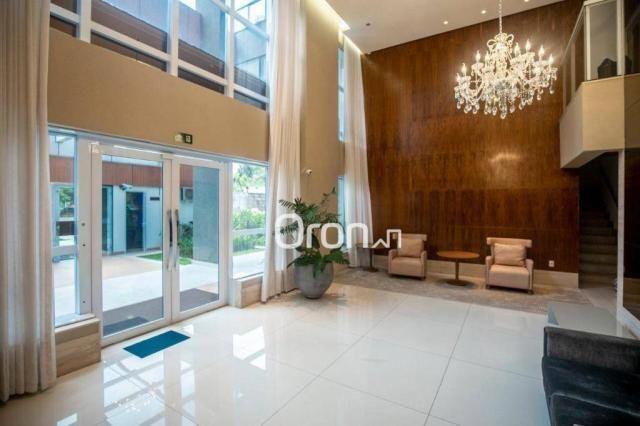 Apartamento com 4 dormitórios à venda, 271 m² por r$ 2.213.000,00 - jardim goiás - goiânia - Foto 2