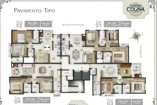 Apartamento c/ 2 demi suíte + 1 Suíte, no Bairro São Francisco de Assis, Camboriú, SC - Foto 5